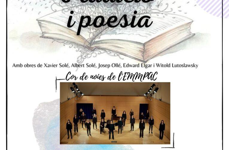 El dissabte 3 de juliol a les 20h tindrà lloc un concert a la Societat amb el cor de noies de l'EMMPAC – Una proposta del Cor Zóngora