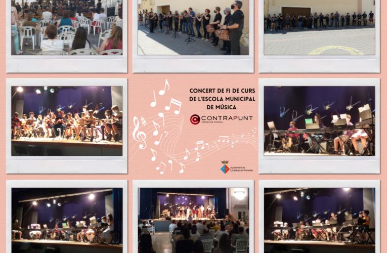 Aquest diumenge han tingut lloc les audicions de fi de curs de l'Escola Municipal de Música de la Bisbal del Penedès