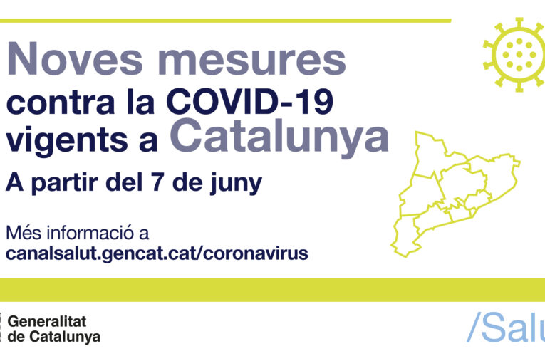 Mesures per la COVID-19 a partir del 7 de juny