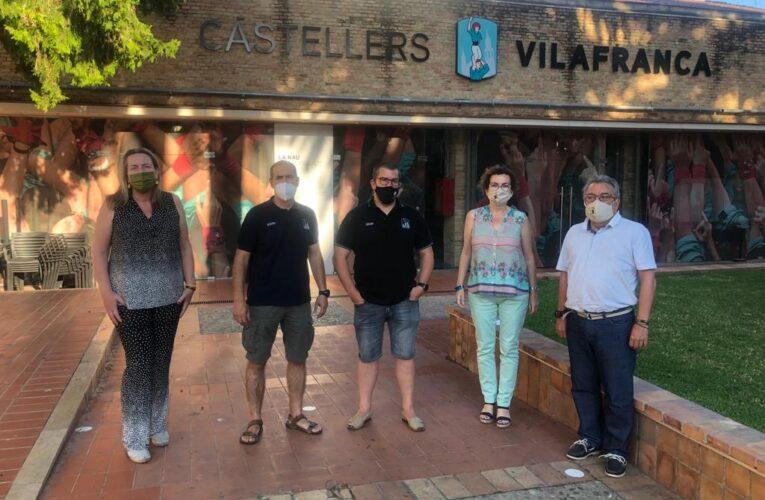 L'Ajuntament de la Bisbal del Penedès prepara una 'Diada Castellera Diferent'