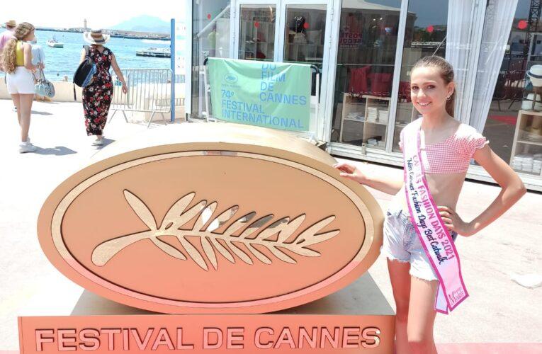 La model i actriu bisbalenca Elisabeth Català ha representat Espanya als Cannes Fashion Days i ha rebut la banda de Miss Cannes a la més elegant
