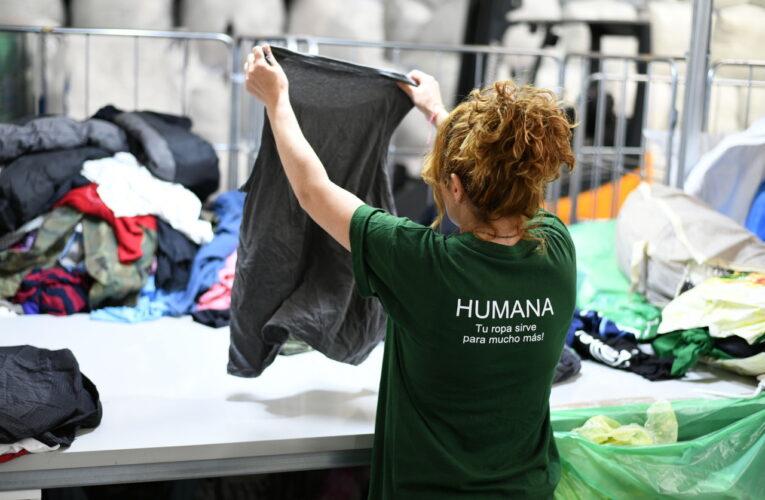 Humana ha recollit 6.169 kg de tèxtil usat a la Bisbal del Penedès durant el primer semestre de l'any 2021