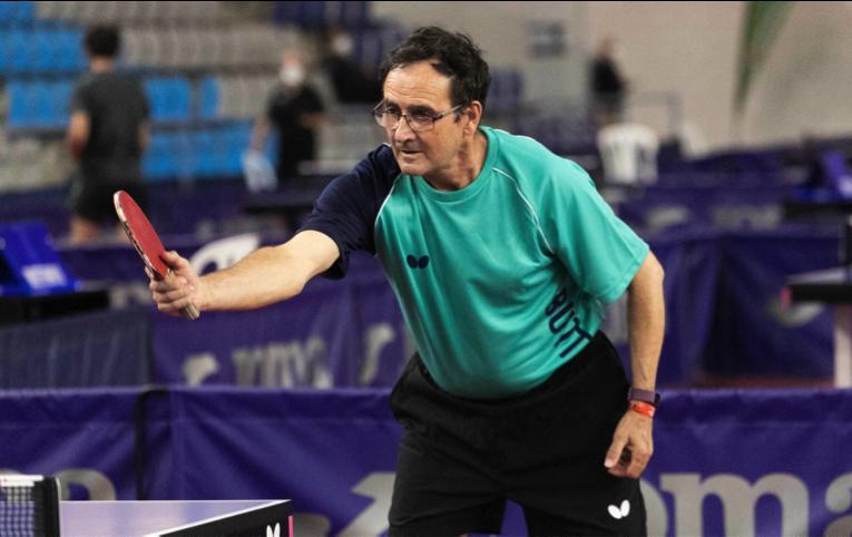 Josep Martínez s'ha proclamat Campió d'Espanya de tennis taula en la categoria +65