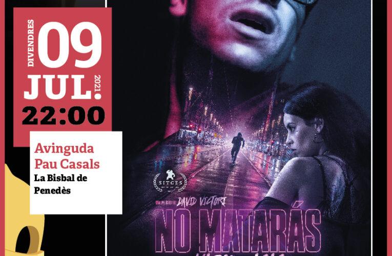 Cinema a la Fresca: El proper divendres 9 de juliol a les 22h podreu veure la pel·lícula 'No matarás' del Cicle Gaudí a la plaça Pau Casals