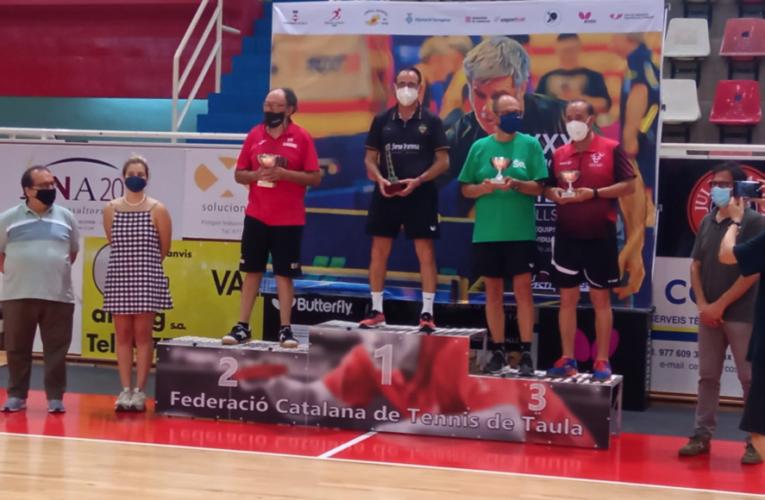 El bisbalenc Josep Martínez s'ha proclamat campió de Catalunya de tennis taula