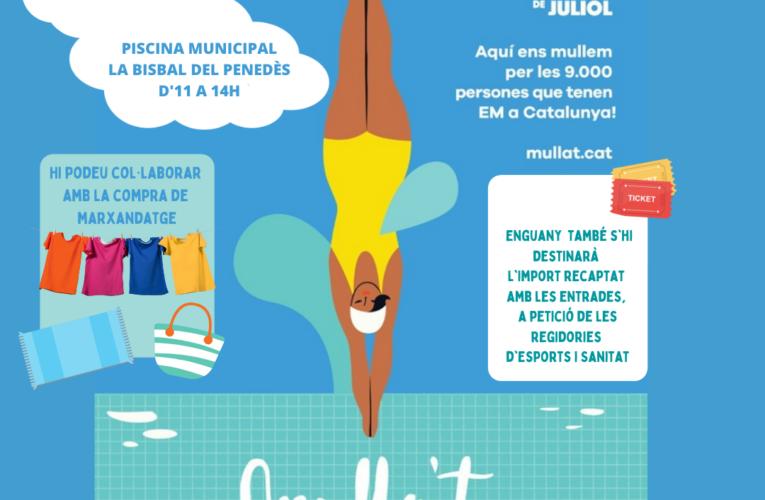 Aquest diumenge Mulla't per l'esclerosi múltiple a la piscina municipal