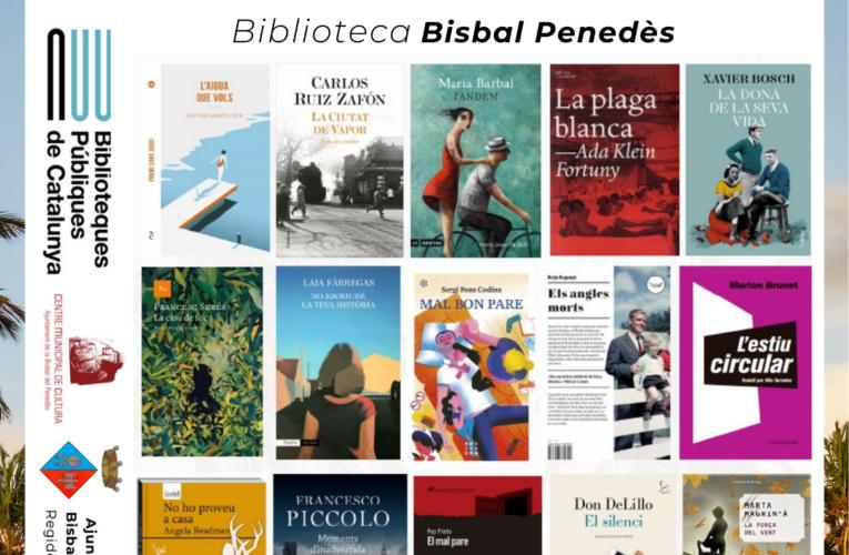Novetats d'estiu a la Biblioteca pública de La Bisbal del Penedès
