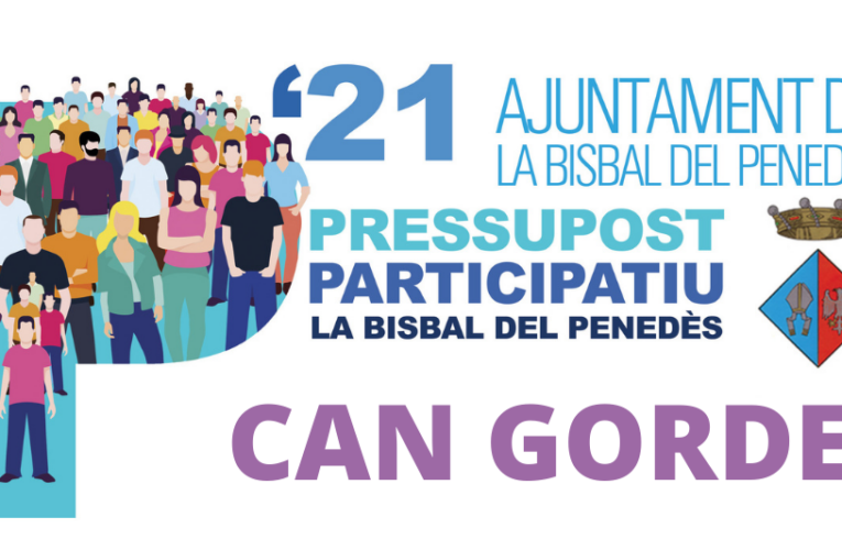 Els veïns de Can Gordei podreu votar el Pressupost Participatiu el dissabte 17 de juliol al davant del local social