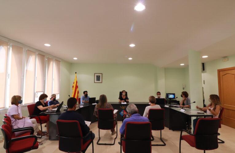 Aquest dilluns 30 d'agost ha tingut lloc un Ple extraordinari a l'Ajuntament de la Bisbal del Penedès