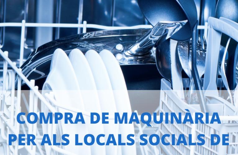 S'aprova la compra de maquinària per als locals de la Miralba i Can Gordei