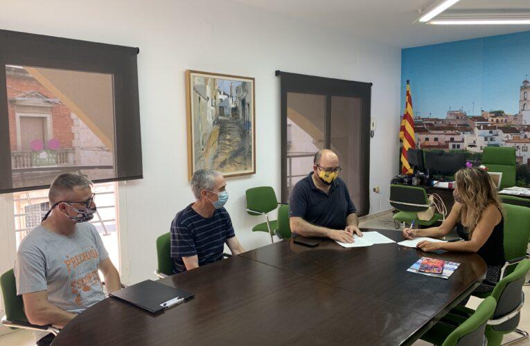 L'ADF Clot de Bou i l'Ajuntament signen un conveni per a l'any 2021