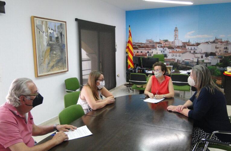 La Colla Castellera de La Bisbal del Penedès i l'Ajuntament signen un conveni per a l'any 2021