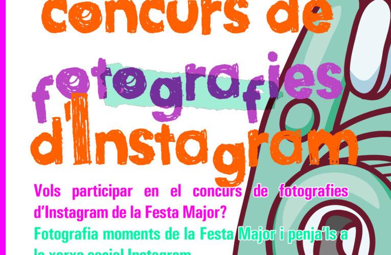 Avui dijous comença el concurs de fotografies d'Instagram!