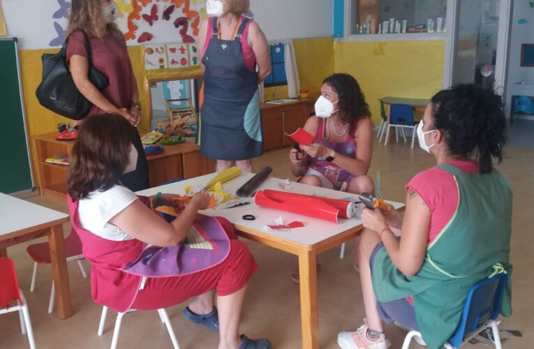 Aquest dilluns han començat les classes d'adaptació a la Llar d'infants l'Oreneta