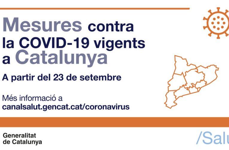 Aquest dijous han entrat en vigor noves mesures contra la COVID-19