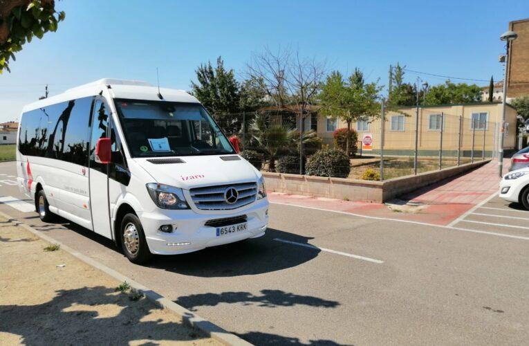 L'alcaldessa Agnès Ferré fa un balanç positiu dels primers mesos de funcionament del nou servei de bus urbà