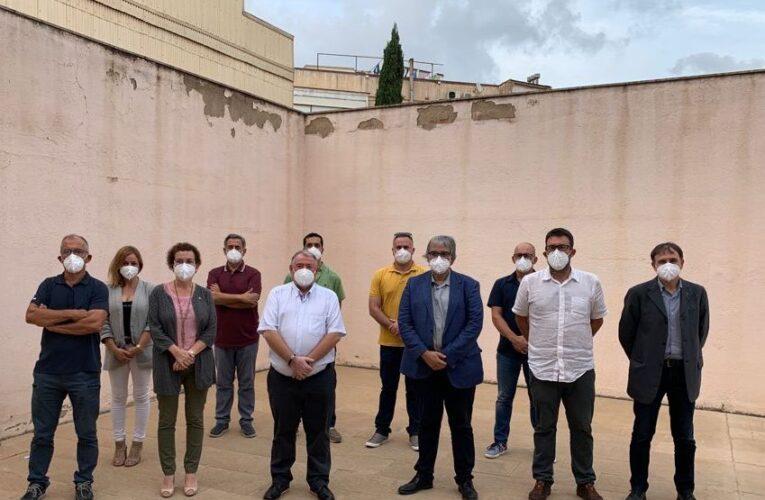 L'alcaldessa de la Bisbal del Penedès ha assistit a la roda de premsa conjunta -entre diverses institucions del territori- centrada en la presentació d'al·legacions contra la MAT