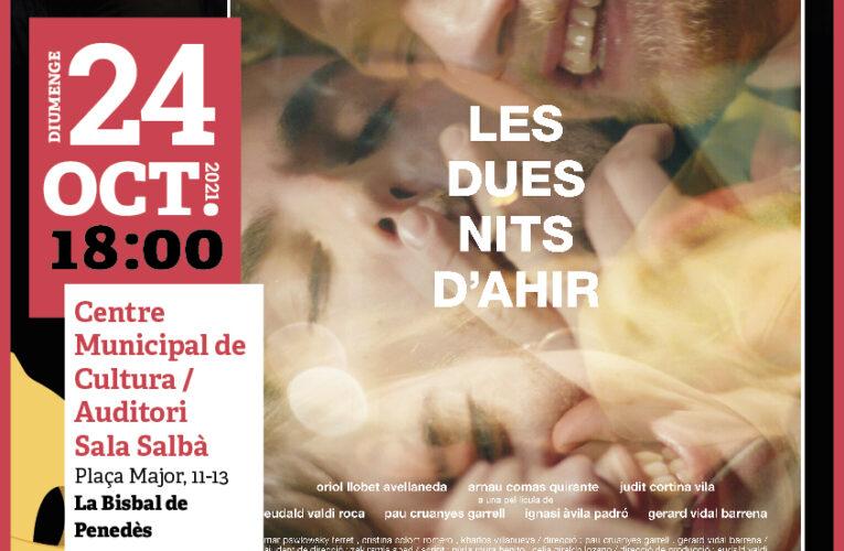 """El diumenge 24 d'octubre projectarem la pel·lícula """"Les dues nits d'ahir"""" del Cicle Gaudí al CMC"""