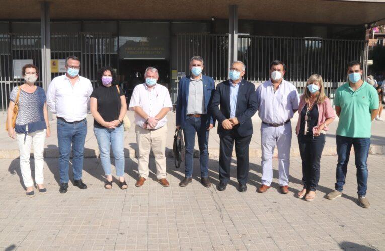 L'alcaldessa de la Bisbal del Penedès i altres representants del territori que s'oposen a la MAT es van reunir amb el subdelegat del Govern de Tarragona el passat dijous