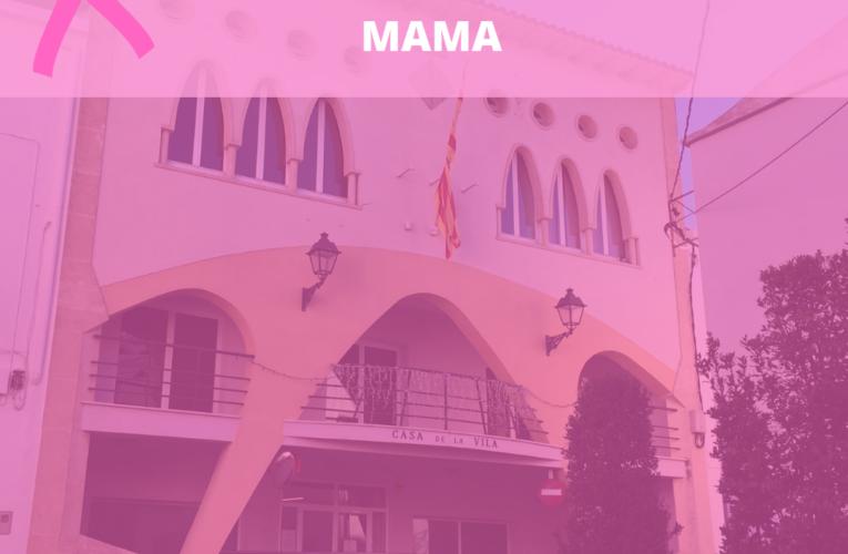 La Casa de la Vila s'il·luminarà de color rosa avui dimarts amb motiu del Dia Mundial Contra el Càncer de Mama