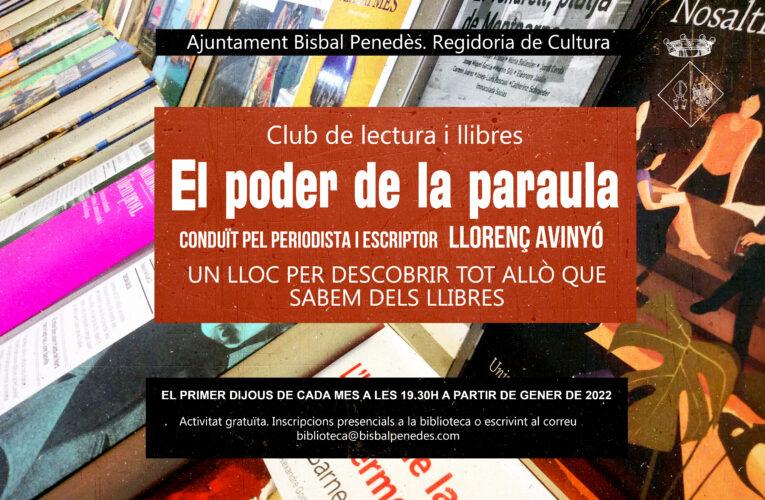 Al gener començarà un nou club de lectura i llibres a la Biblioteca conduït pel periodista Llorenç Avinyó
