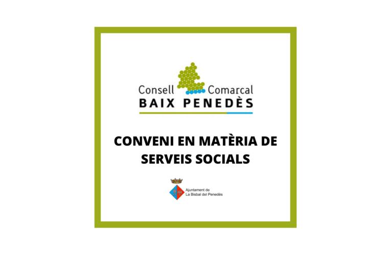 S'ha aprovat la liquidació del 3r trimestre del conveni en matèria de serveis socials amb el Consell Comarcal del Baix Penedès