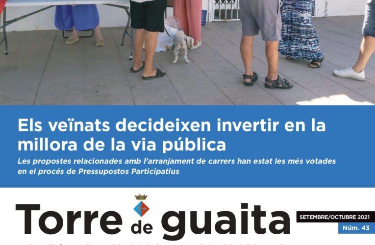 La nova edició de la revista municipal Torre de Guaita ja ha sortit al carrer – La podeu descarregar en format digital en aquesta publicació