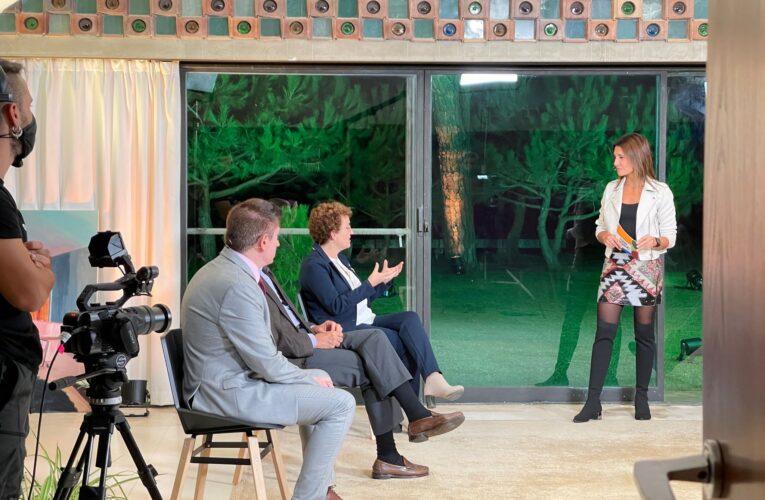 L'alcaldessa Agnès Ferré ha participat en la tertúlia del programa televisiu 'Espai Públic 2030' com a batllesa i representant dels municipis de l'ACM