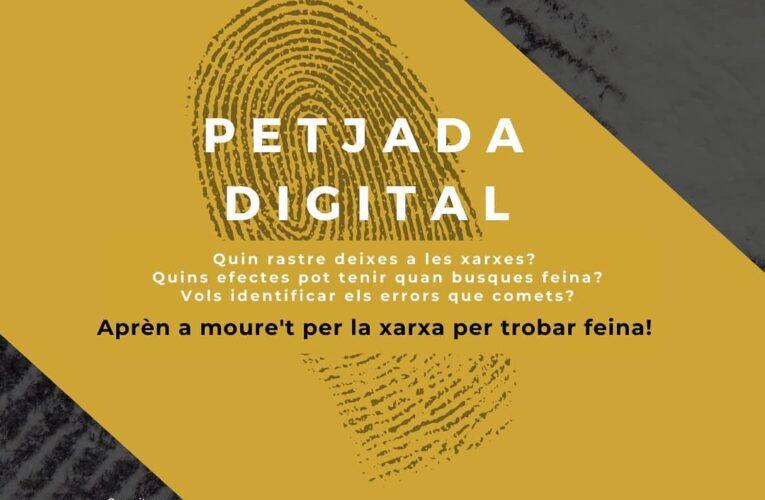 """El proper dijous 14 d'octubre a les 17h es farà un taller virtual per a joves dedicat a la """"petjada digital"""""""