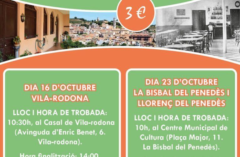 Aquest dissabte 23 d'octubre podeu fer un recorregut pel passat associatiu del municipi al CMC